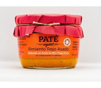 Paté Pimiento Rojo Asado apto para vegetarianos
