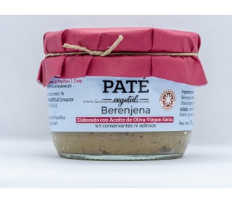 Paté Berenjena apto para vegetarianos