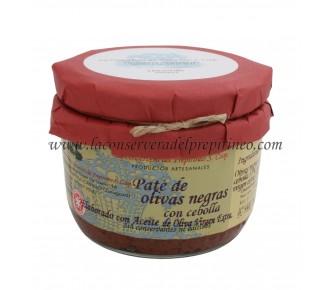 Paté Olivas de Aragón con Cebolla apto para vegetarianos