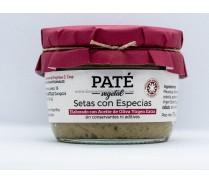 Paté Setas con Especias, un producto artesano
